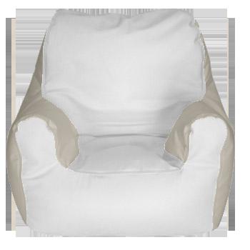 Armchair   Beige/White