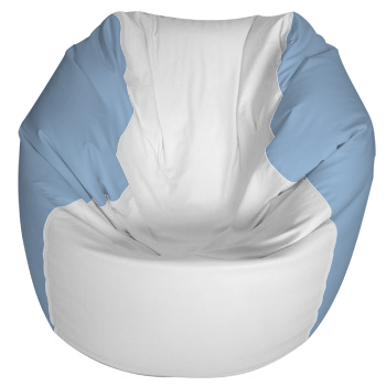 Traditional Round Style Marine Bean Bag